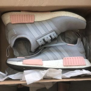 adidas Shoes - Adidas NMDs grey and white